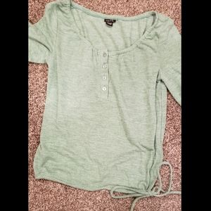 Women's Green Rue21 Shirt